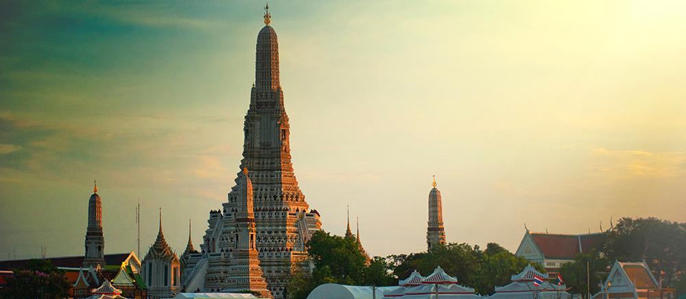 Bangkok cultuur gebouw