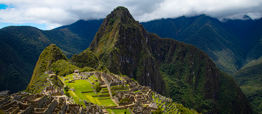 Machu Picchu zuid amerika backpacken