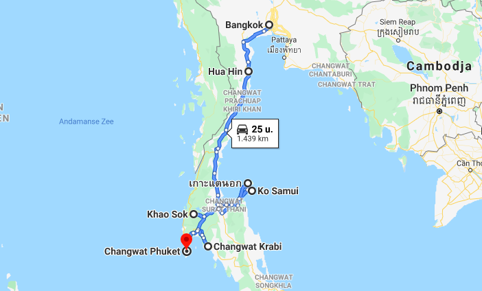 backpack route thailand