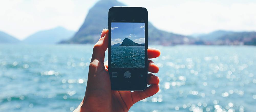 smartphone camera backpack spullen