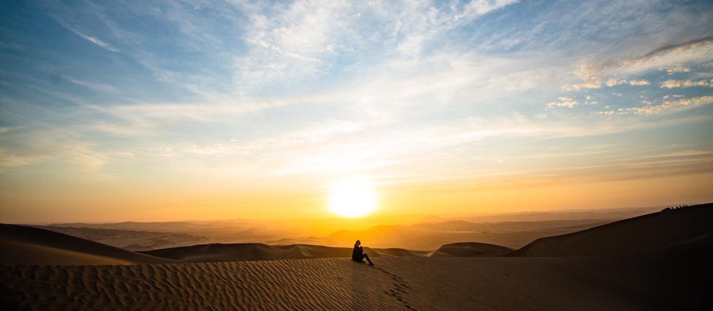woestijn peru zand